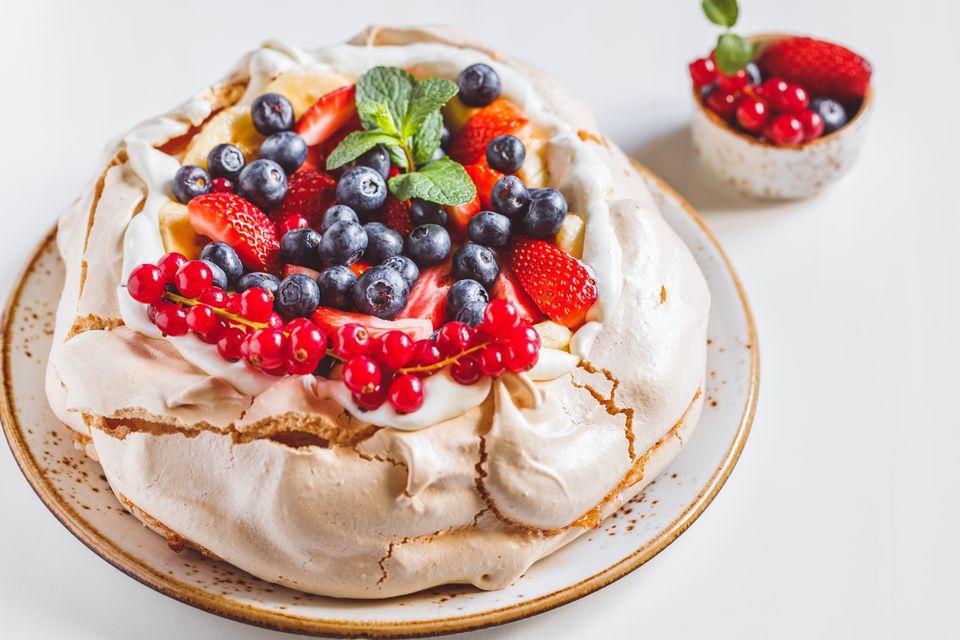 Australian Pavlova Dessert