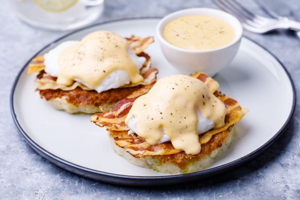 Bubbles and squeak benedict recipe
