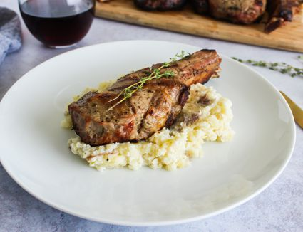 Easy grilled veal chops