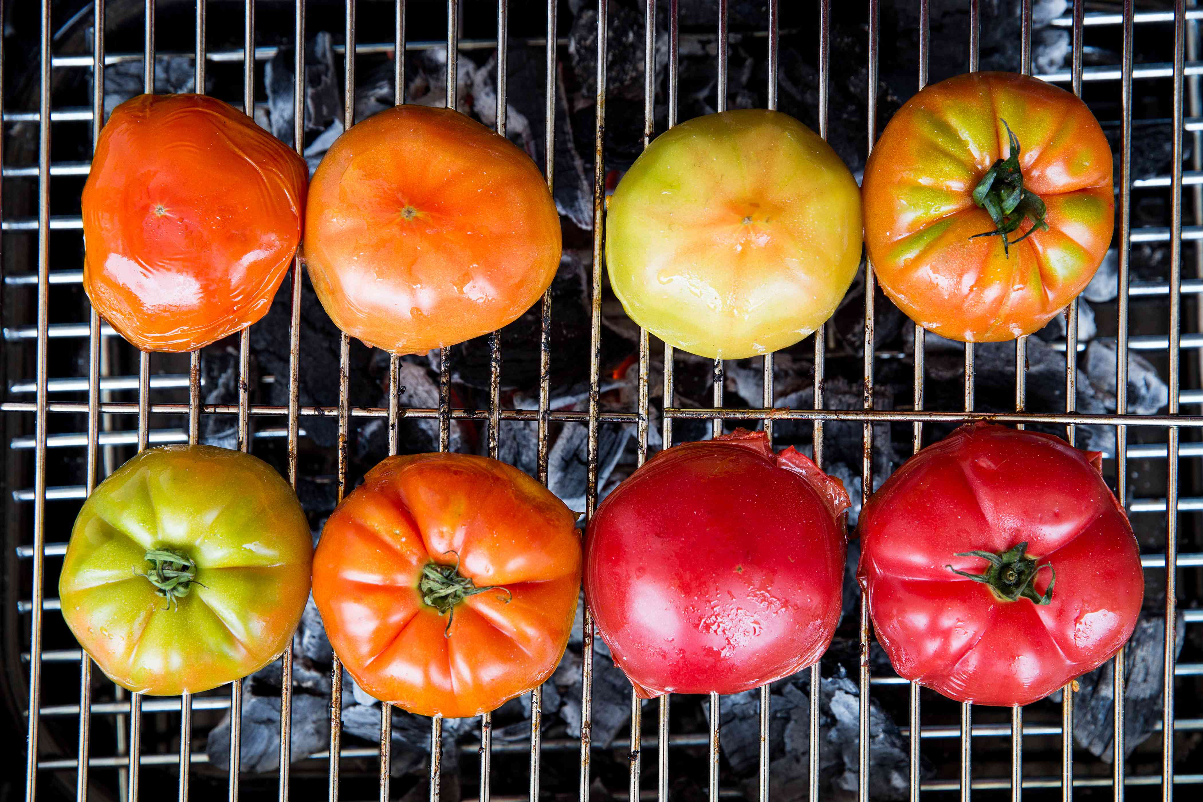 Tomatoes on the grill