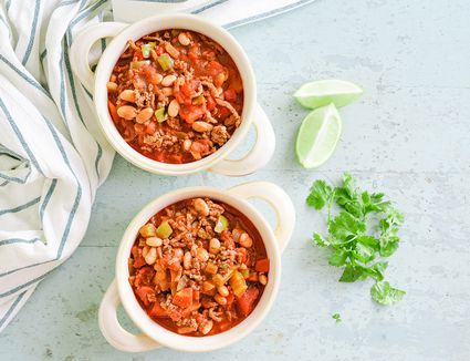 Ground Beef and Pinto Bean Chili