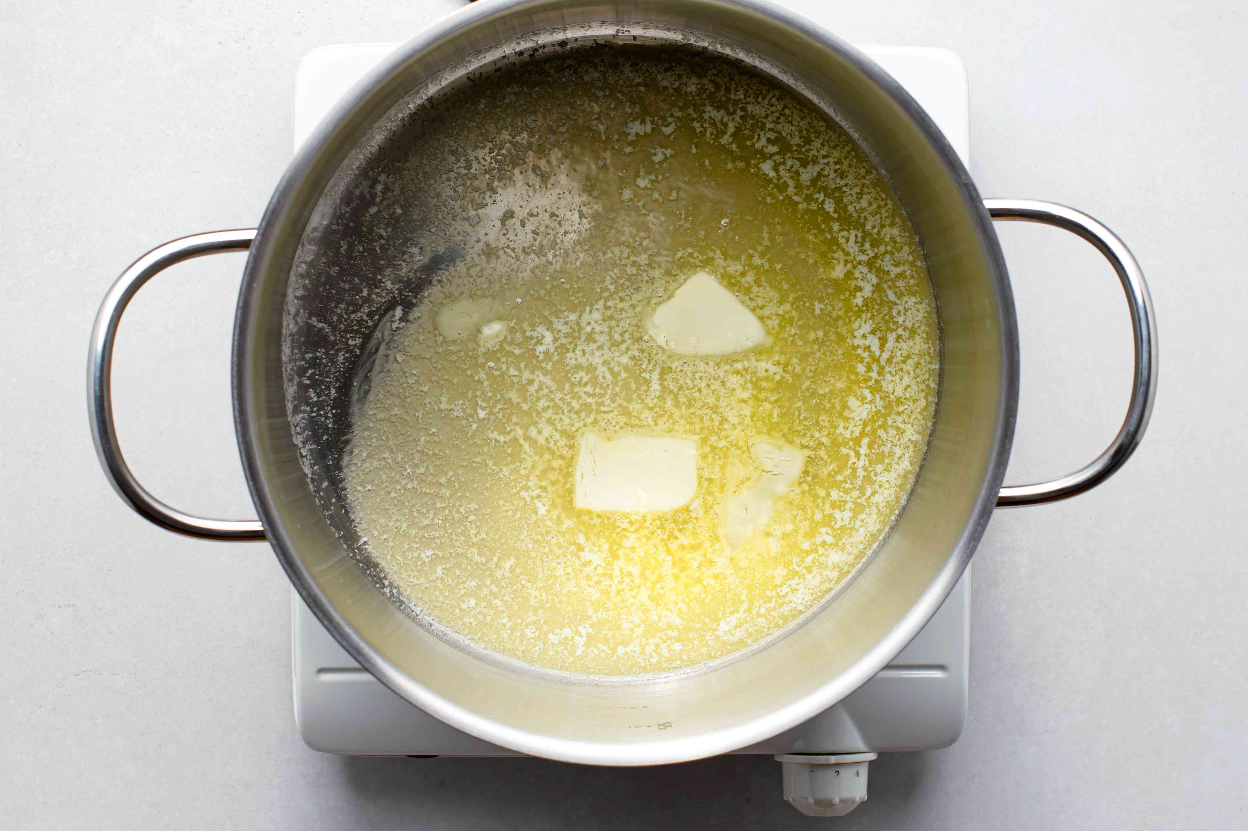 butter in a stockpot