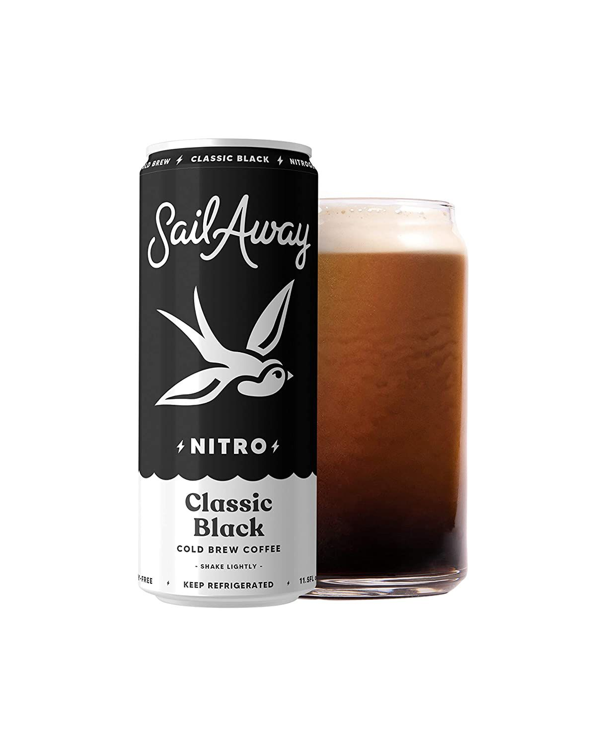 Sail Away Coffee Nitro Cold Brew Cans