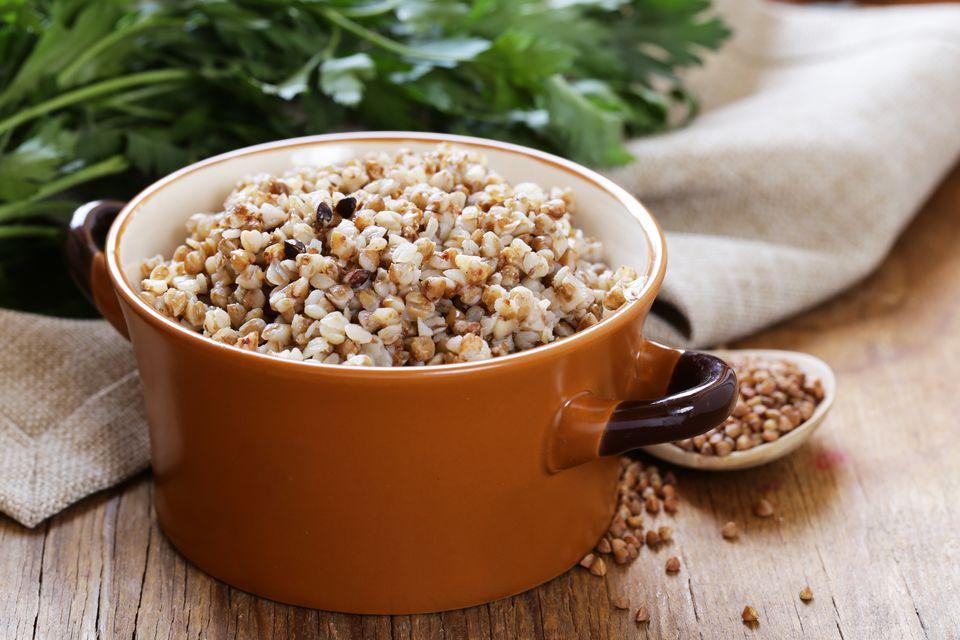 Natural organic buckwheat cereal.