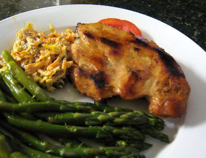 grilled honey citrus chicken
