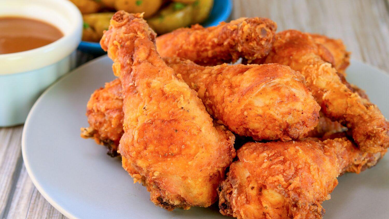 Crispy Fried Chicken Drumsticks Recipe