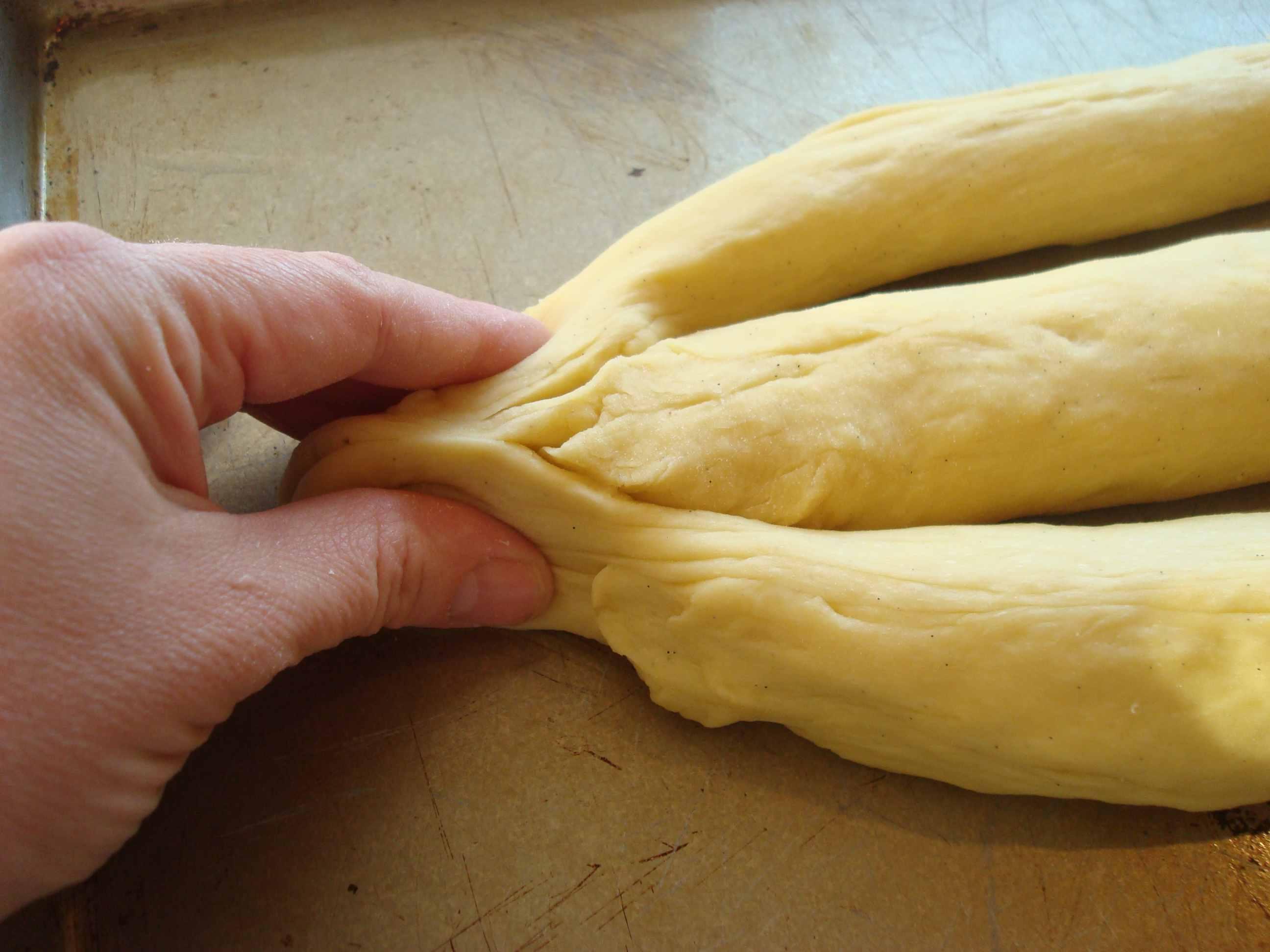Pinch dough