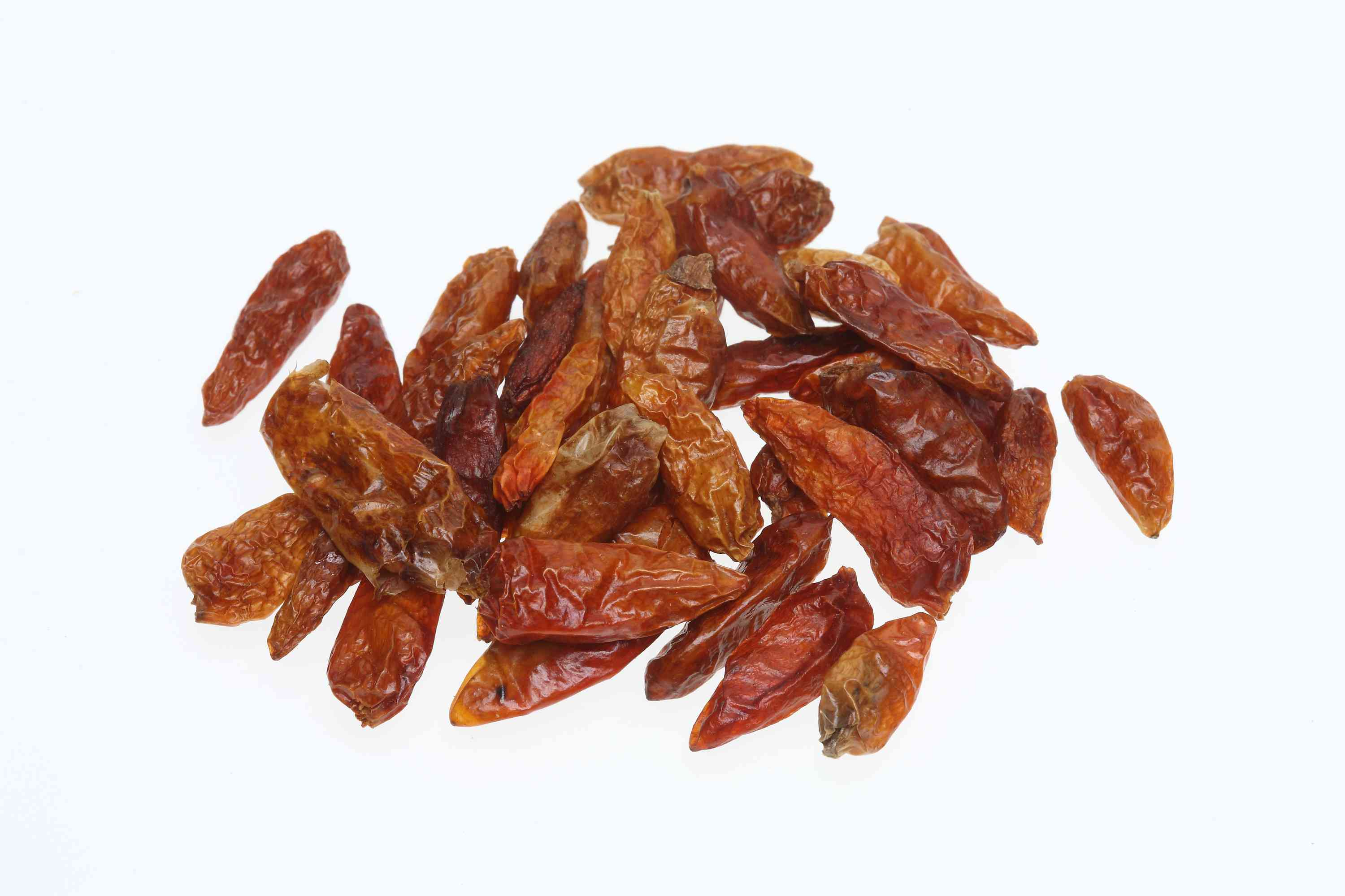 Dried Pequin Chile Peppers