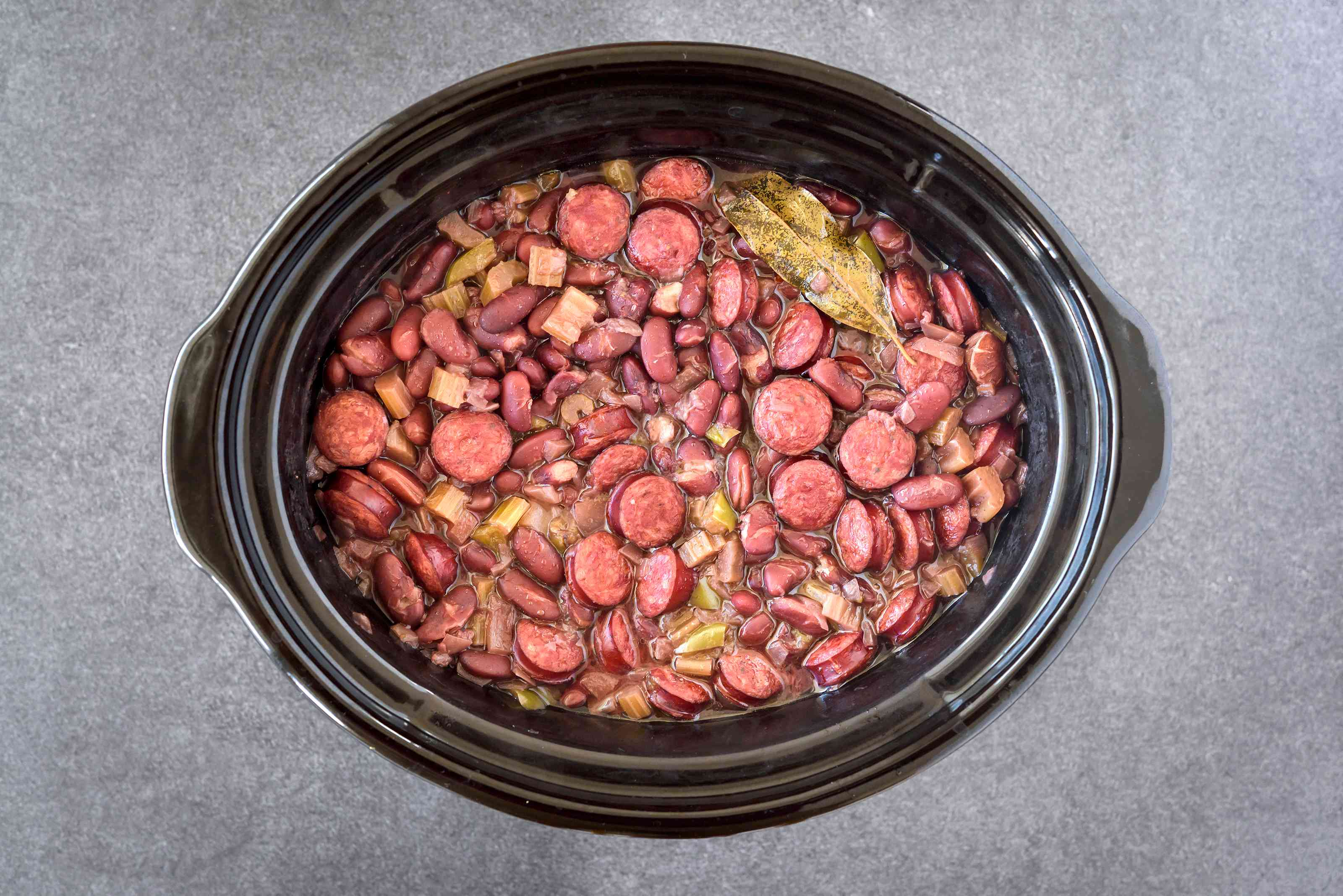 Cook Red Beans and Rice With Sausage