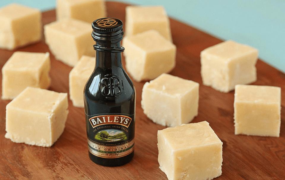 Fudge blanco crema irlandés de Bailey