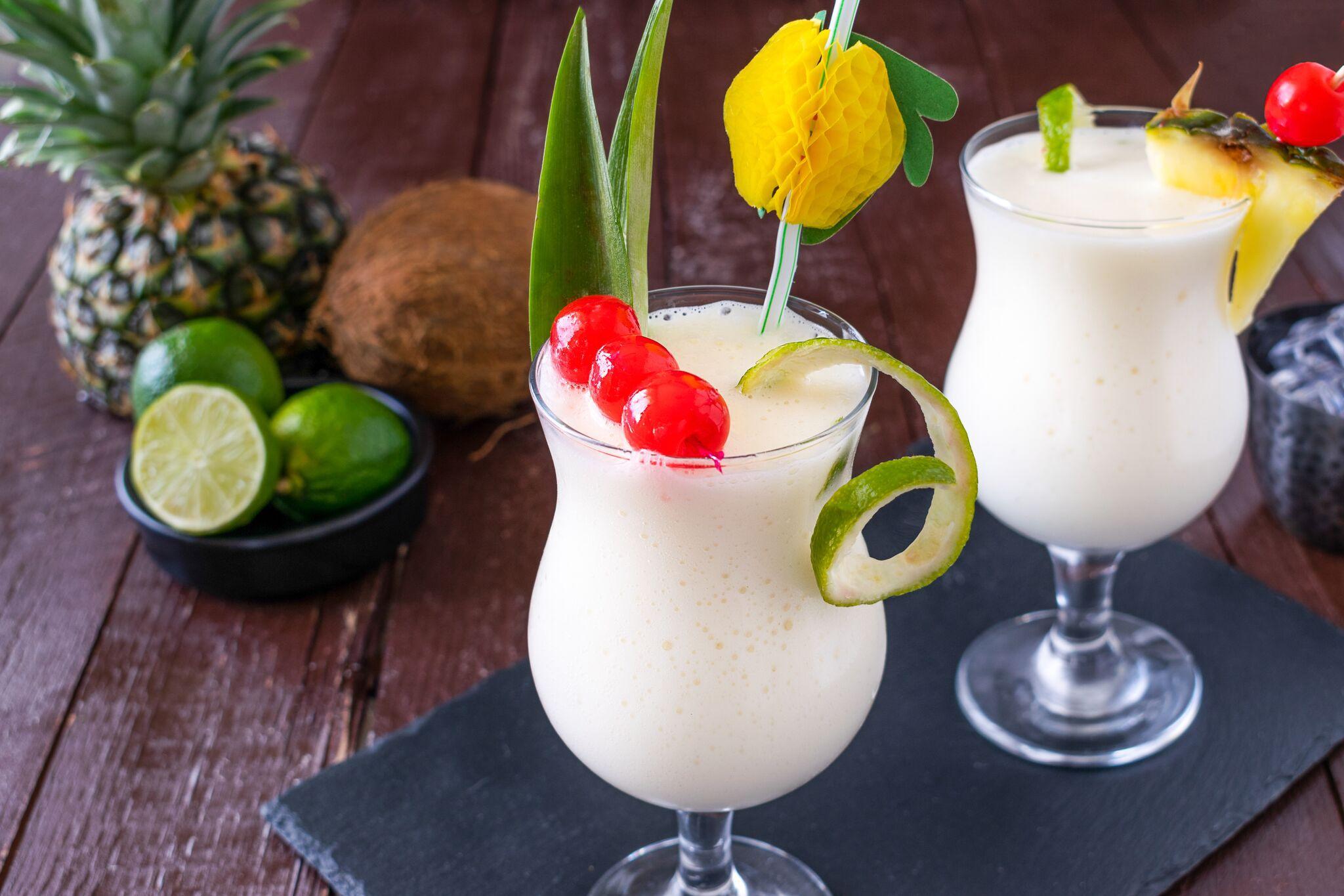 Frozen Pina Colada Cocktail Recipe