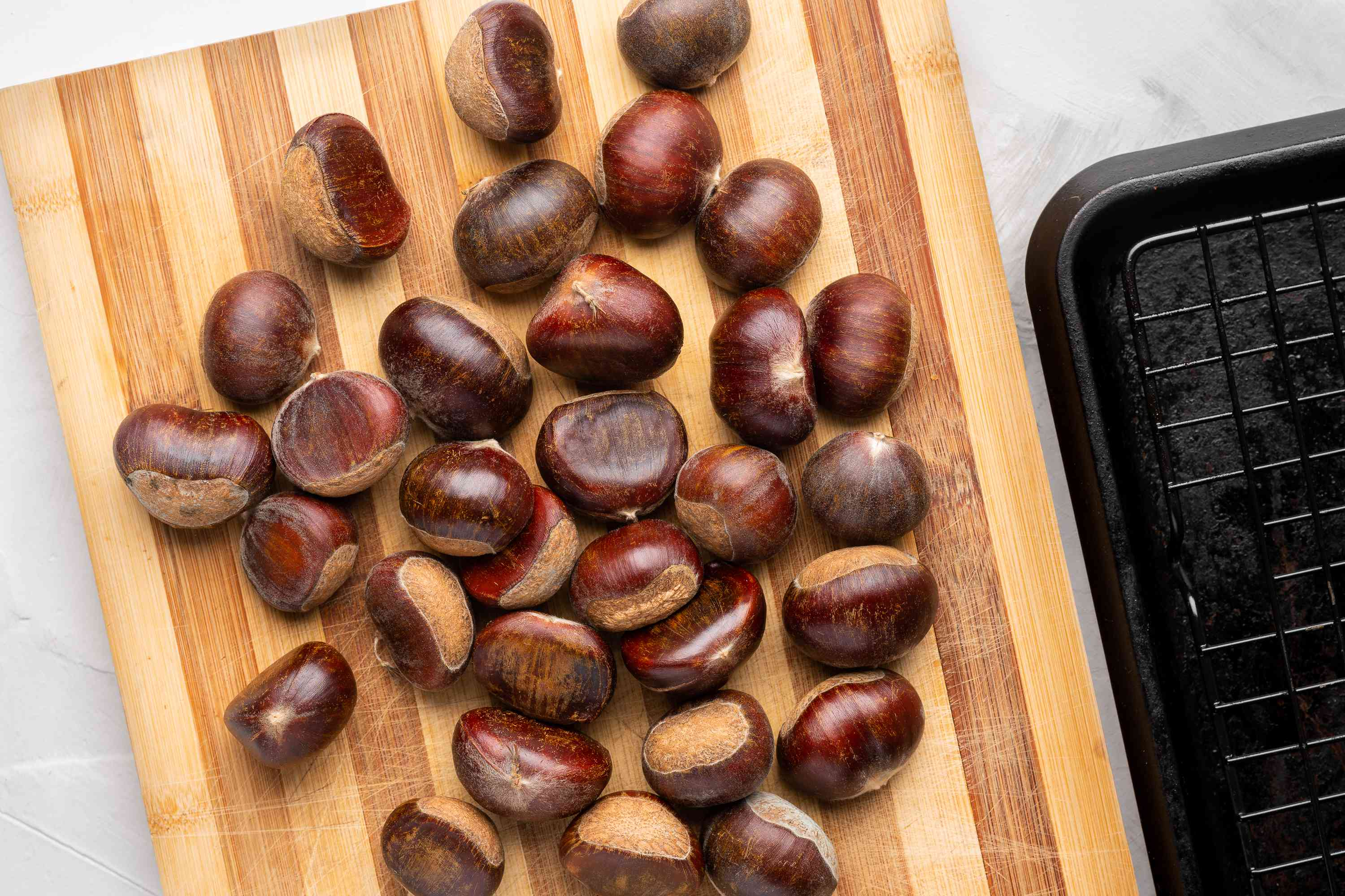 Roast Chestnuts in the Oven ingredients