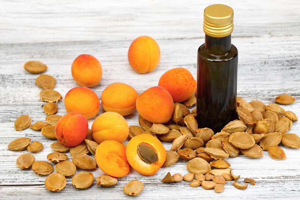 Apricot Oil From Apricot Kernels