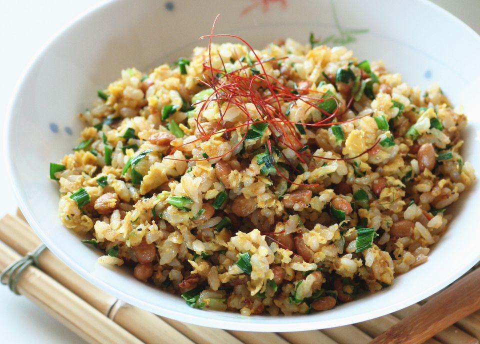 Cajun rice salad