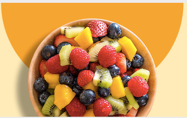 Amazon Fresh Fruits Landing Page