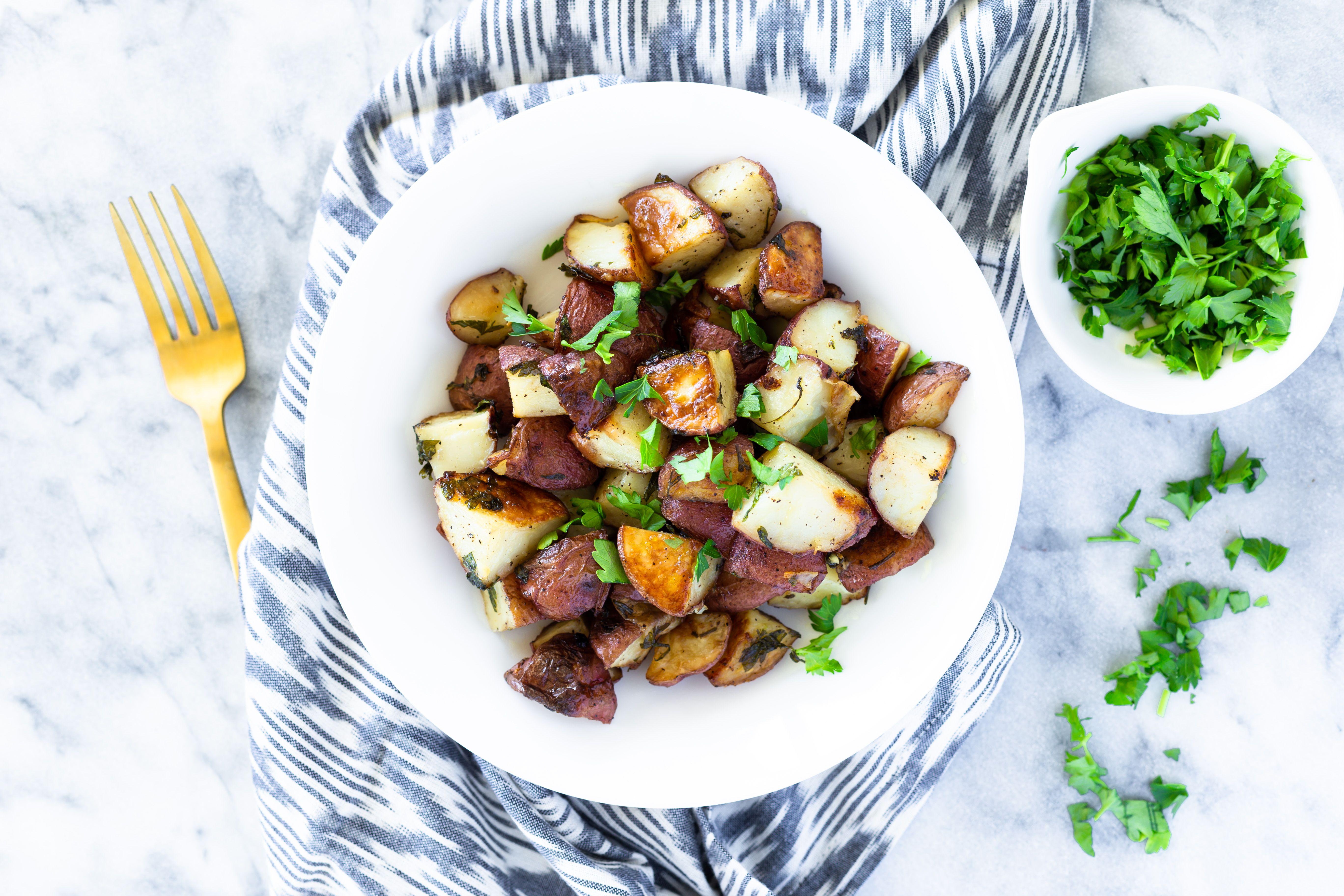 Basic roast potatoes