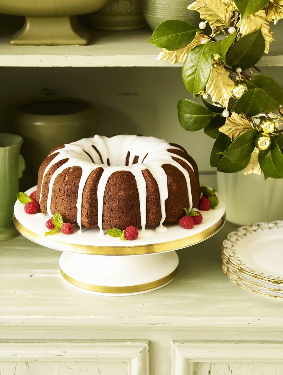 Apricot Sour Cream Pound Cake Recipe