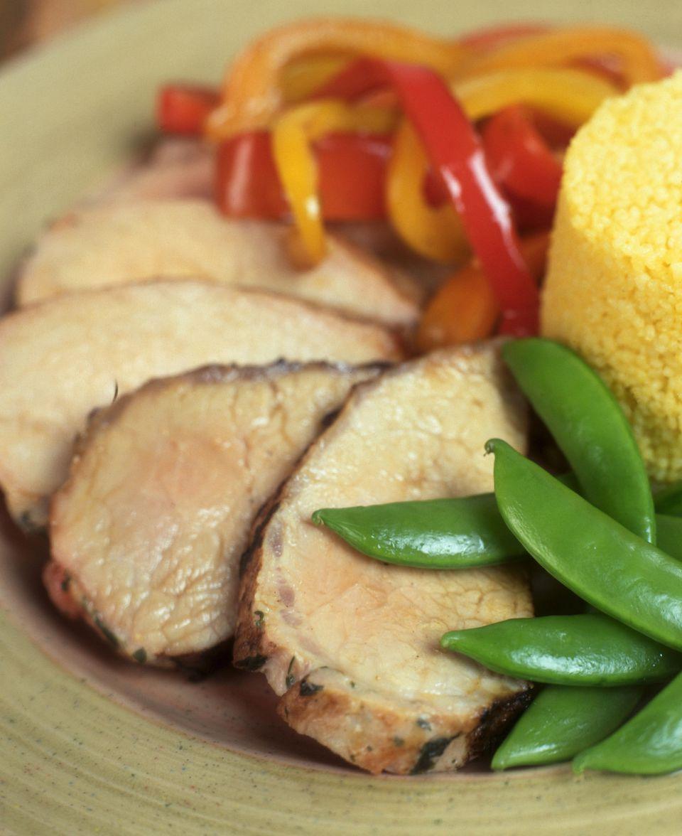 Mediterranean Grilled Pork Loin