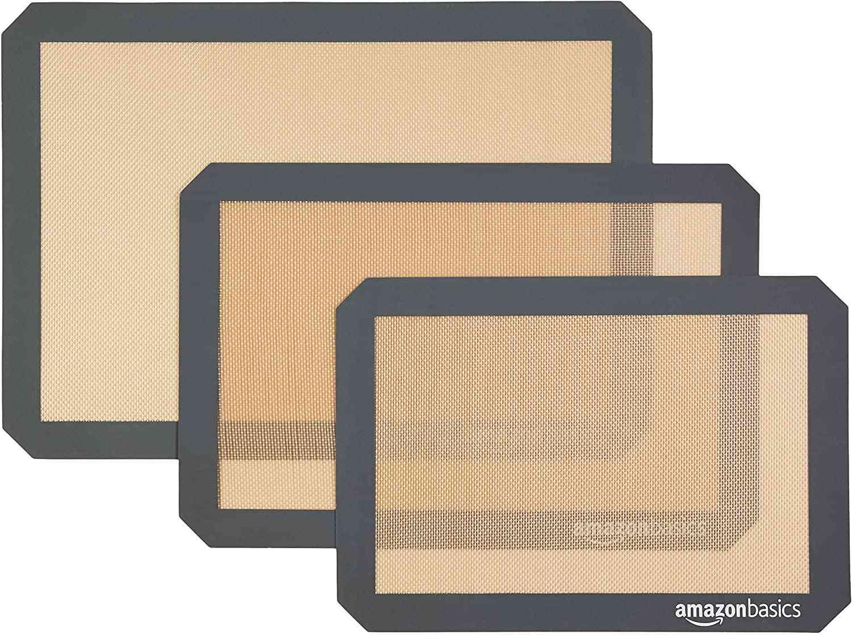 Amazon Basics Silicone Non-Stick Food Safe Baking Mat