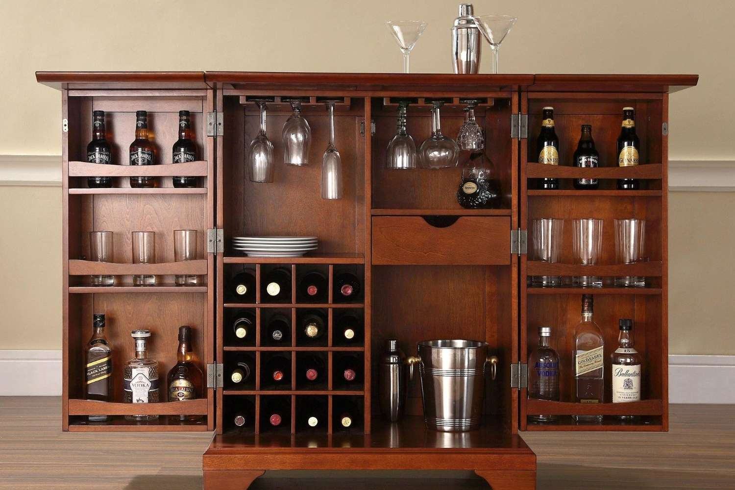 10 Great Portable And Hidden Home Bars