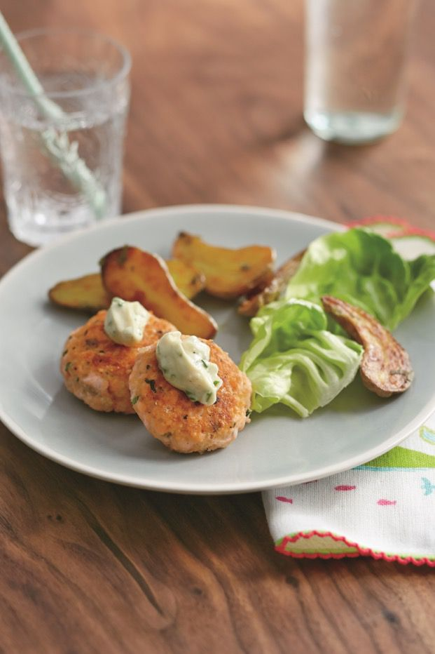 Salmon Cakes Real Baby Food