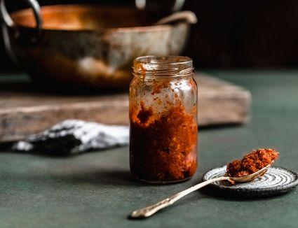 Sambal in a jar