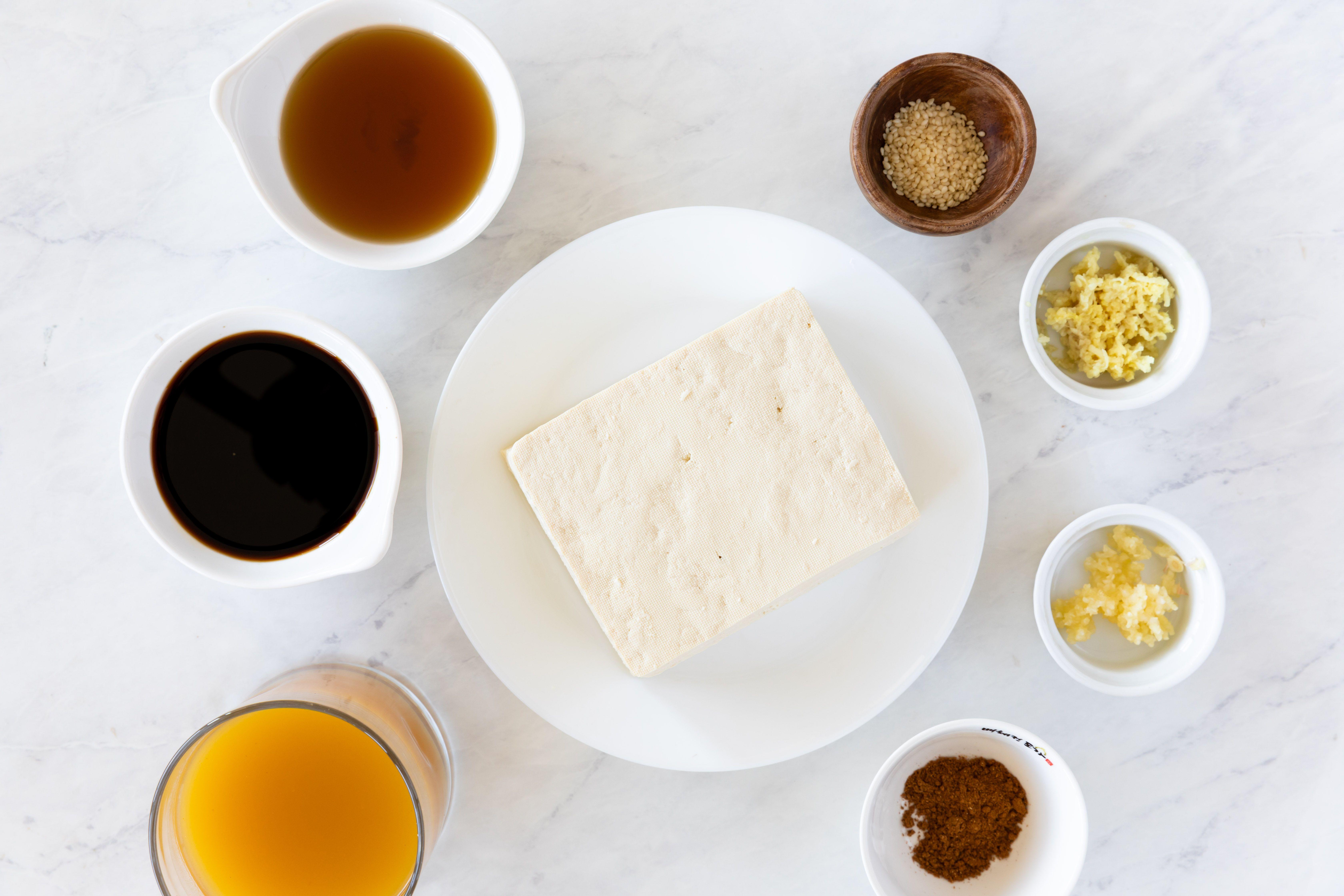 Chinese five spice tofu recipe