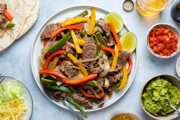 Quick Stove-Top Beef Fajitas