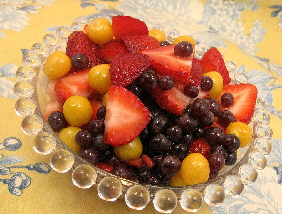 Strawberry and Gooseberry Salad