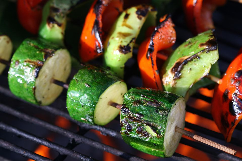 Marinated Vegetable Kebabs