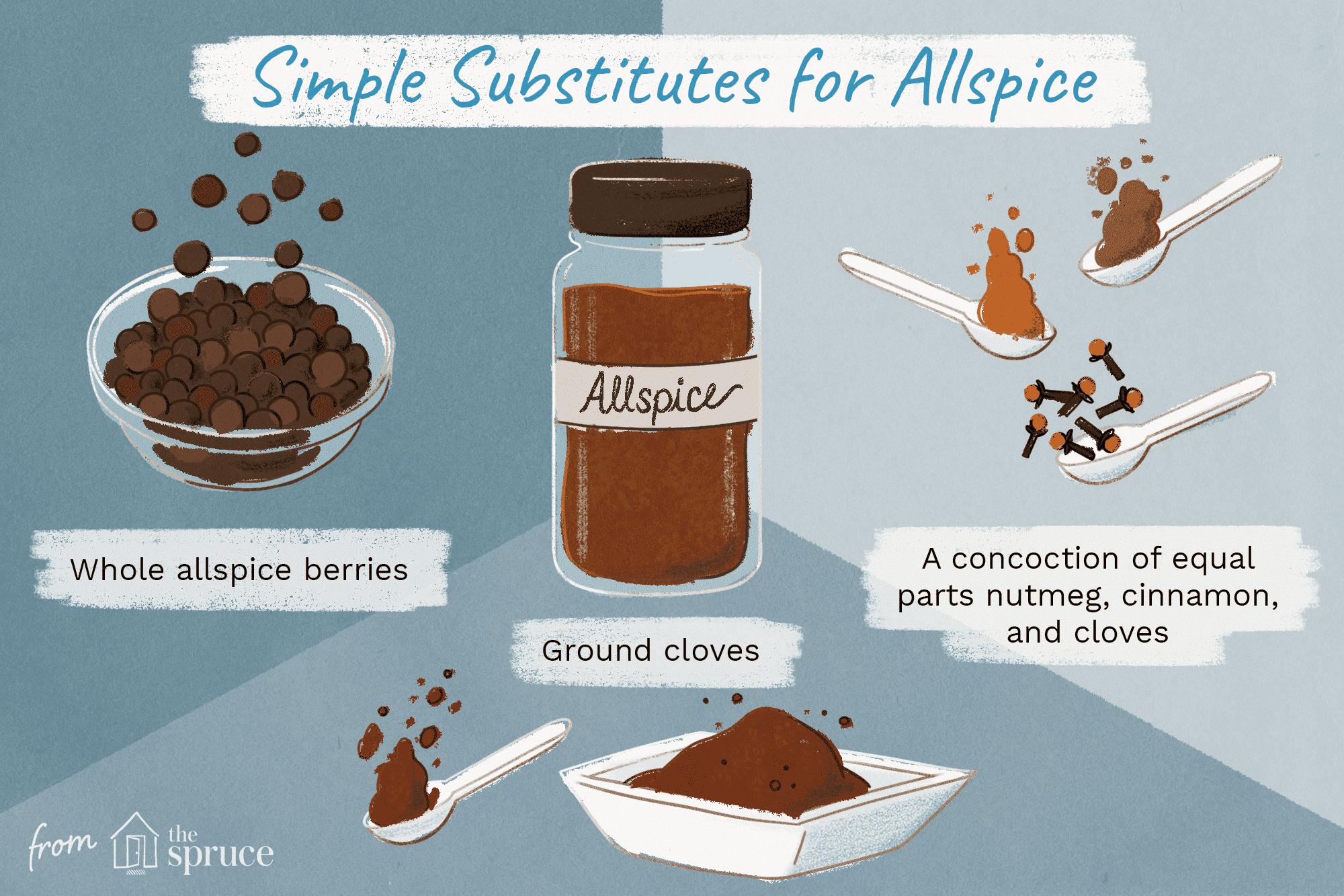 Allspice substitution