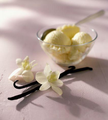 Orchid ice cream