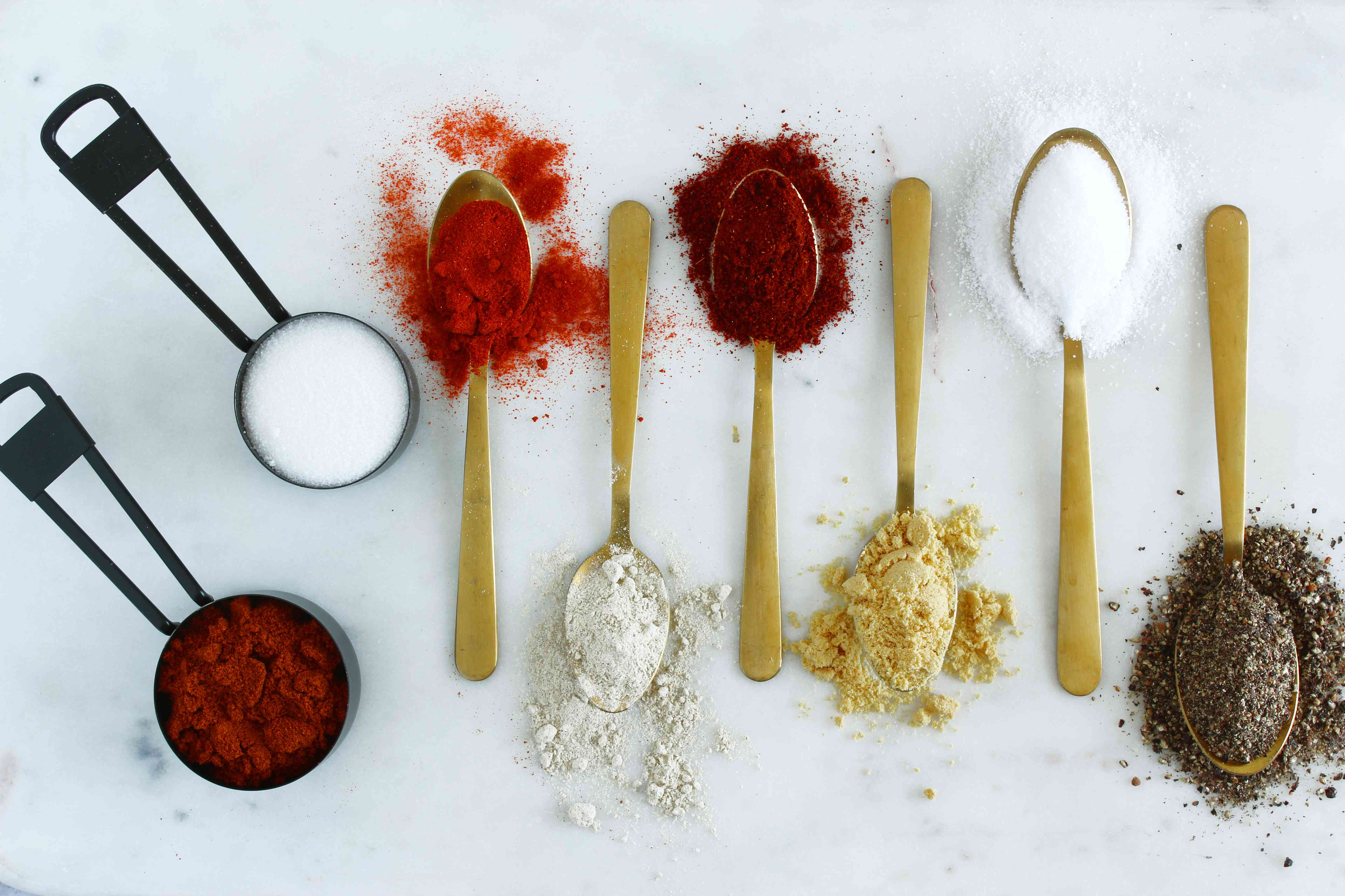 Ingredients for pork rub
