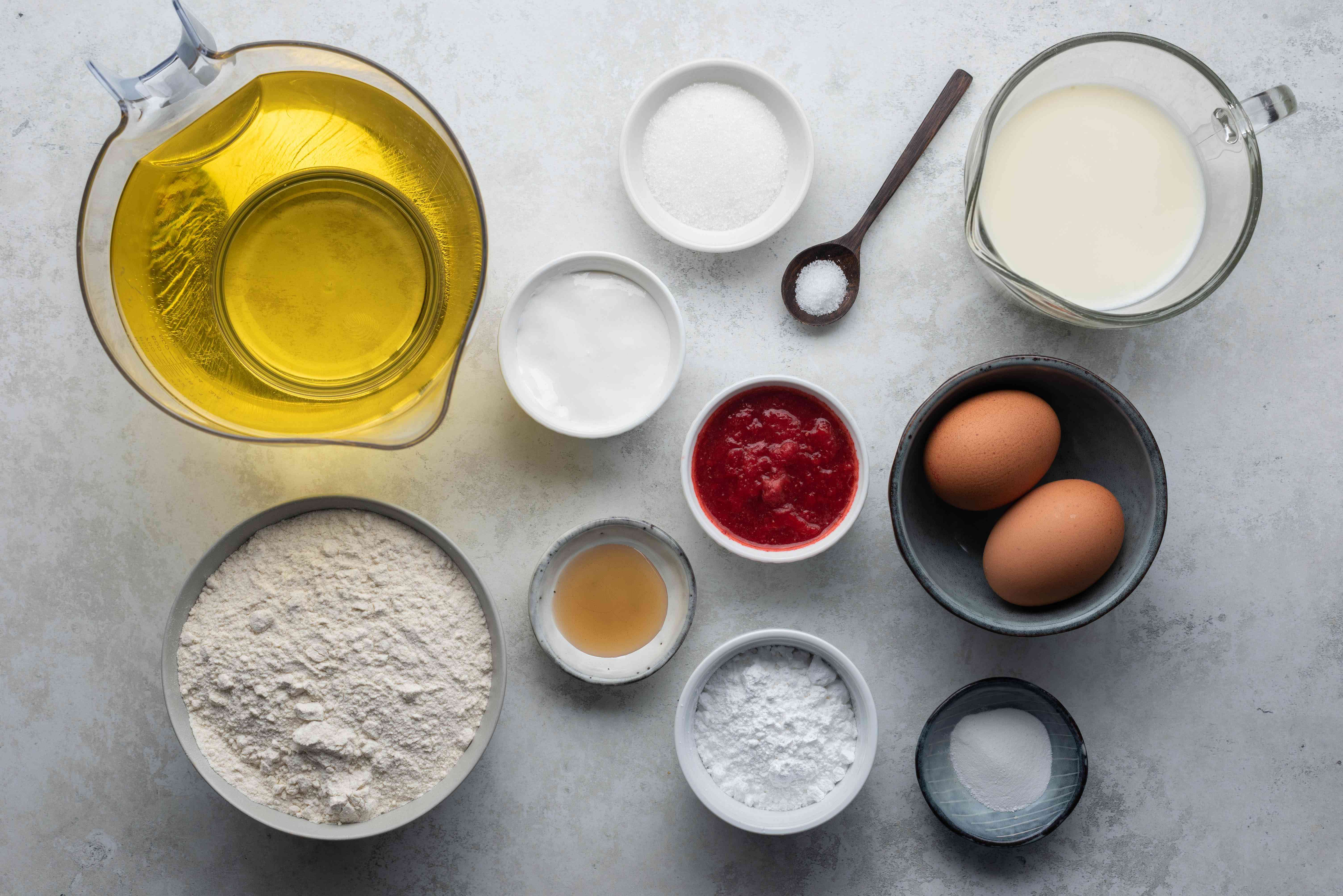 funnel cake fry ingredients