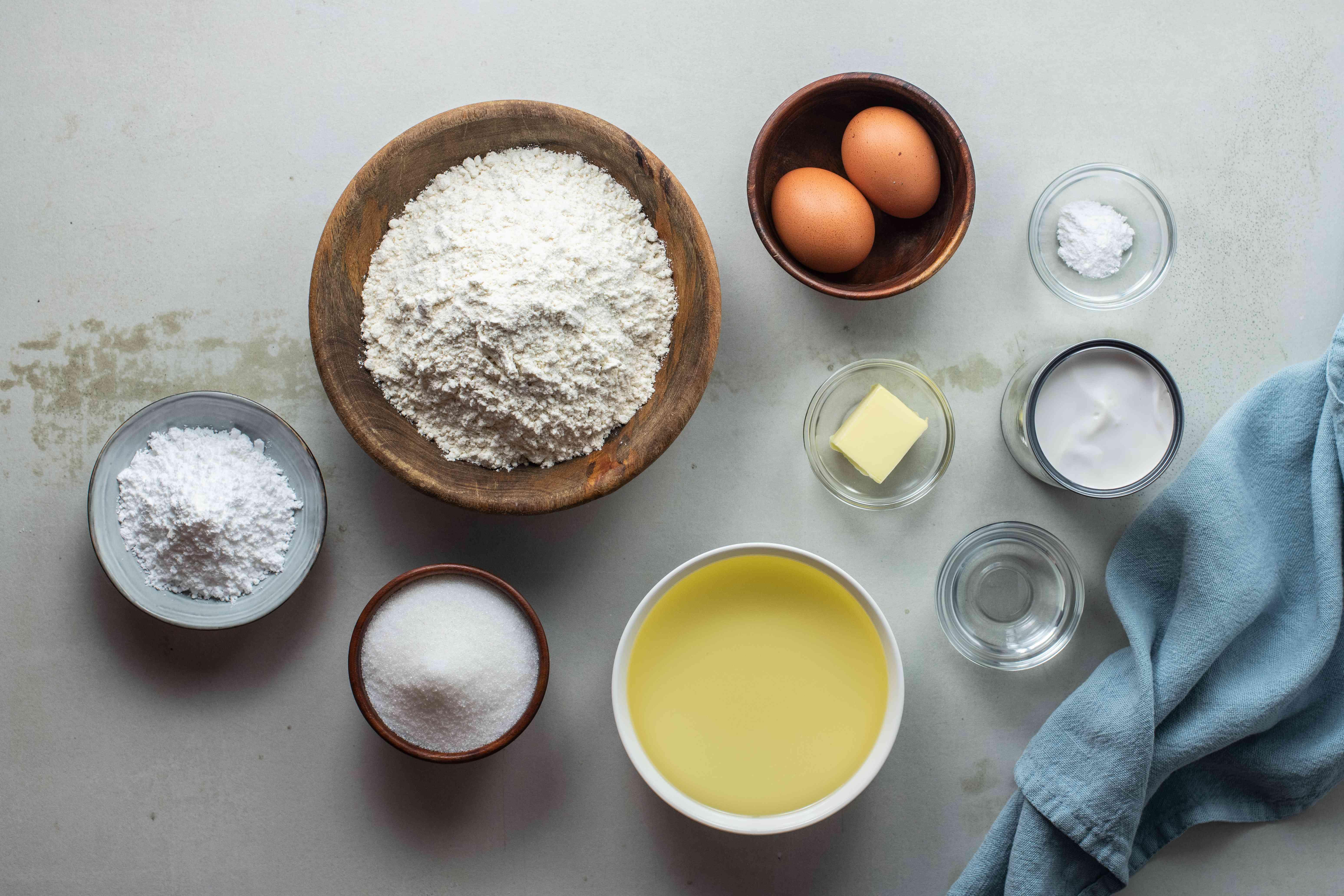Ingredients for kulkuls