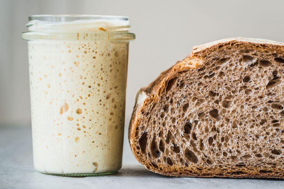 Sourdough starter and sourdough bread