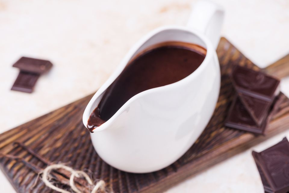 Perfect chocolate sauce