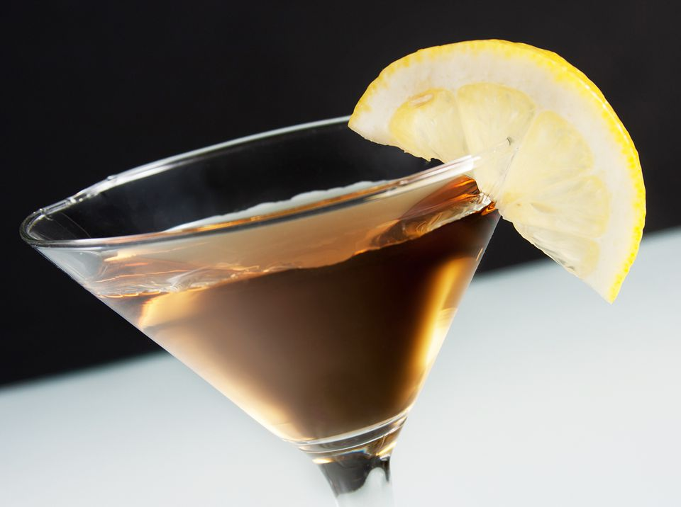 An Easy Tea Martini Vodka Cocktail Recipe