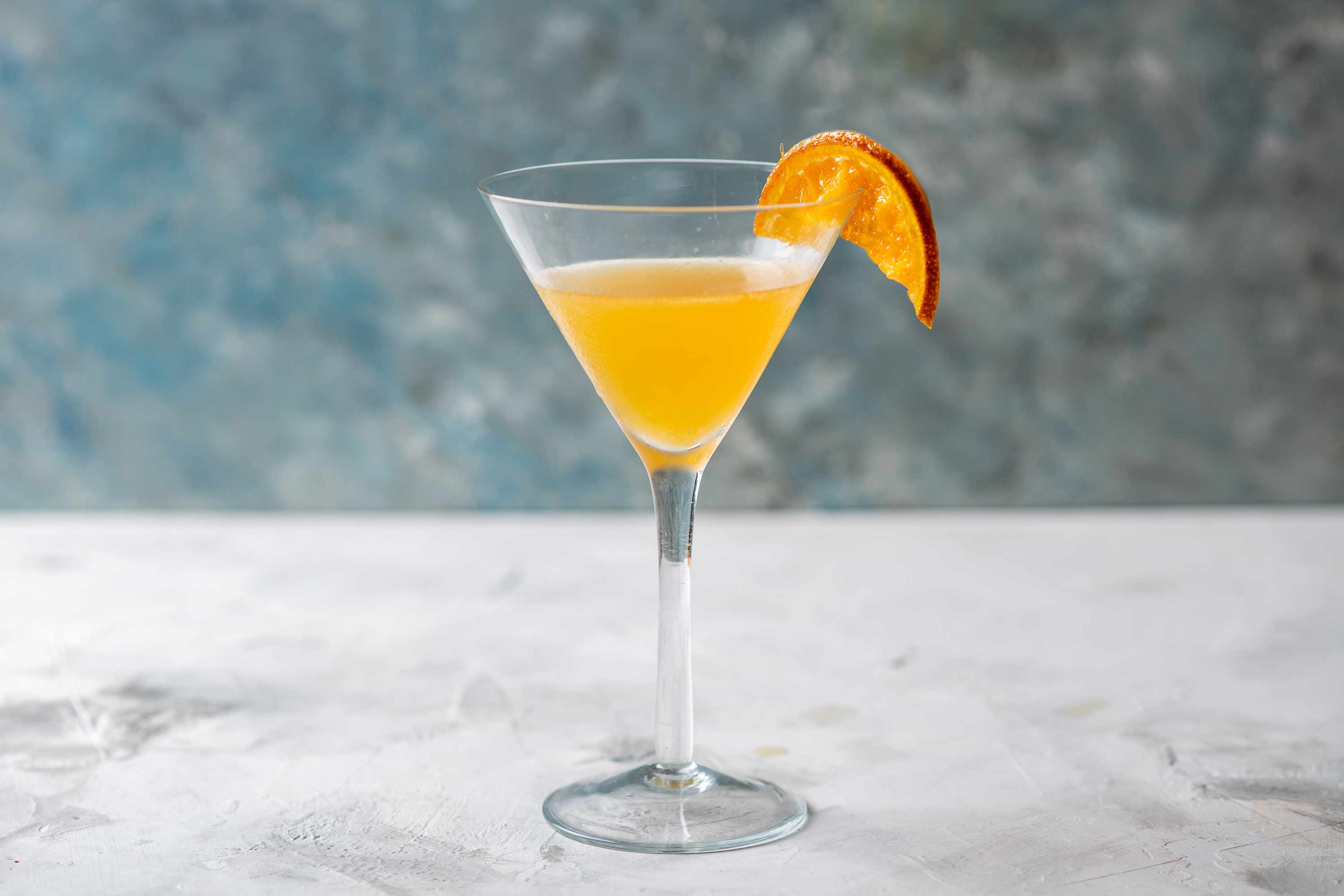 The Grand Manhattan Cocktail in a cocktail glass