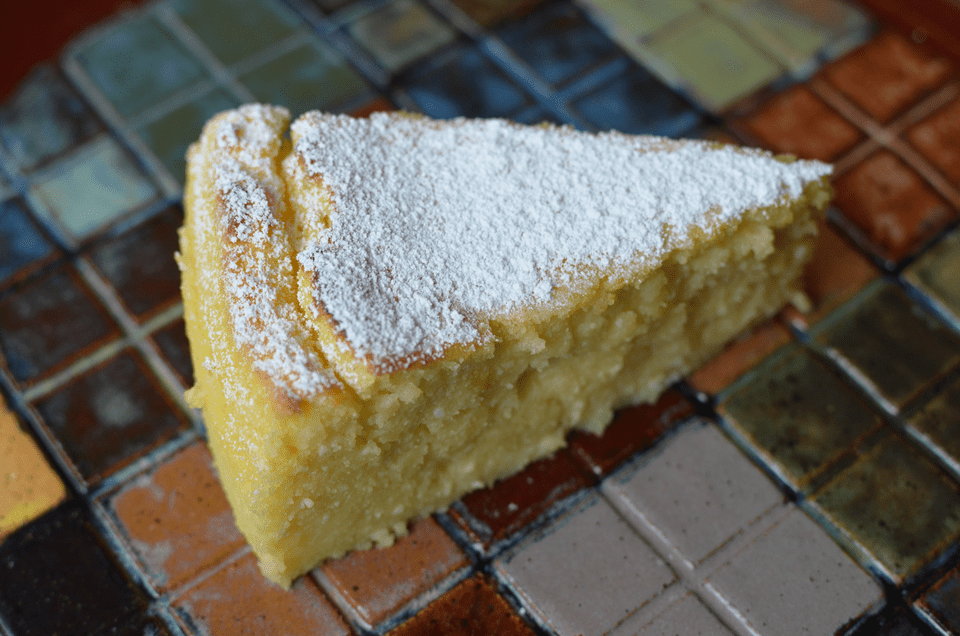 A Slice of Lemon-Ricotta Cake