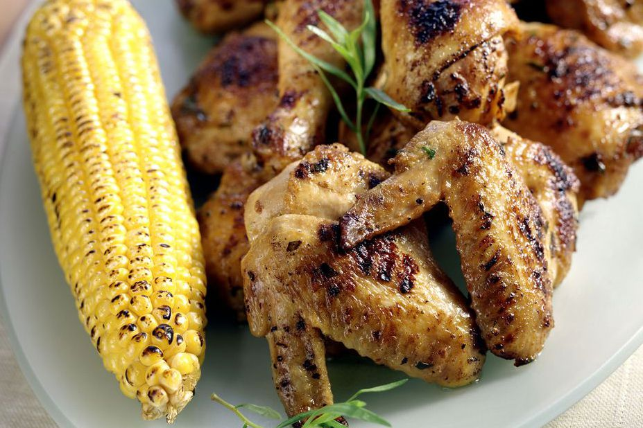 Chicken and corn