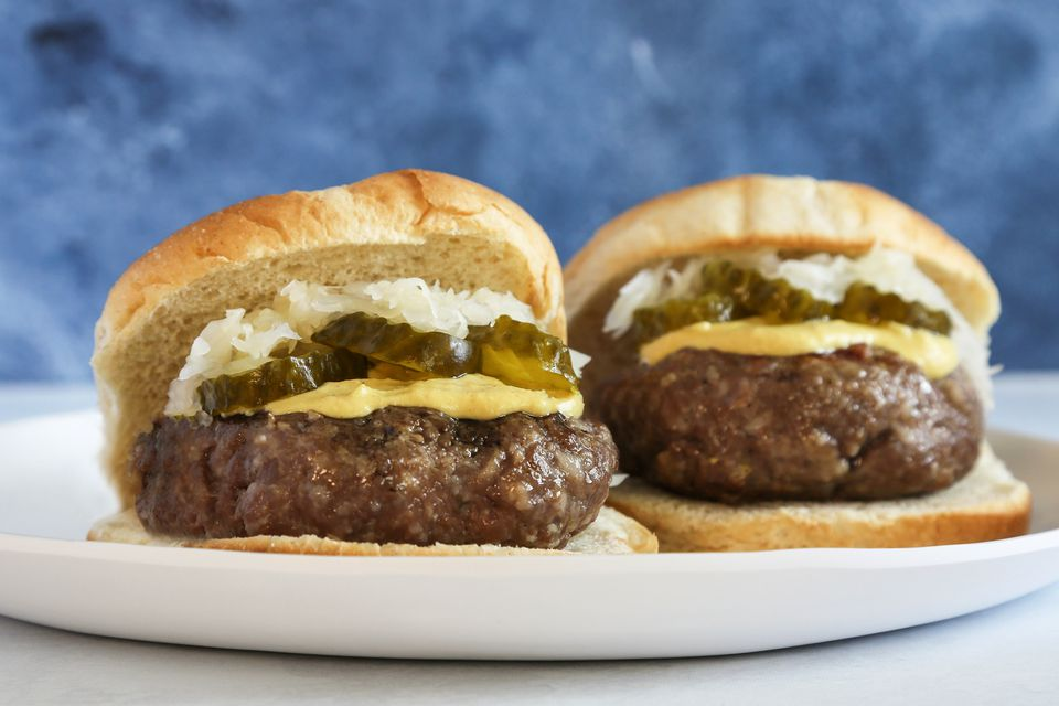 Bratwurst Patty Burger