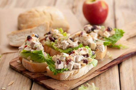Chicken Salad With Apples And Cranberries Recipe
