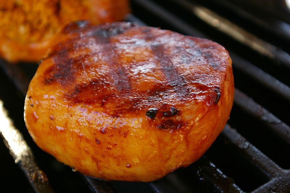Pineapple and Soy Pork Chops