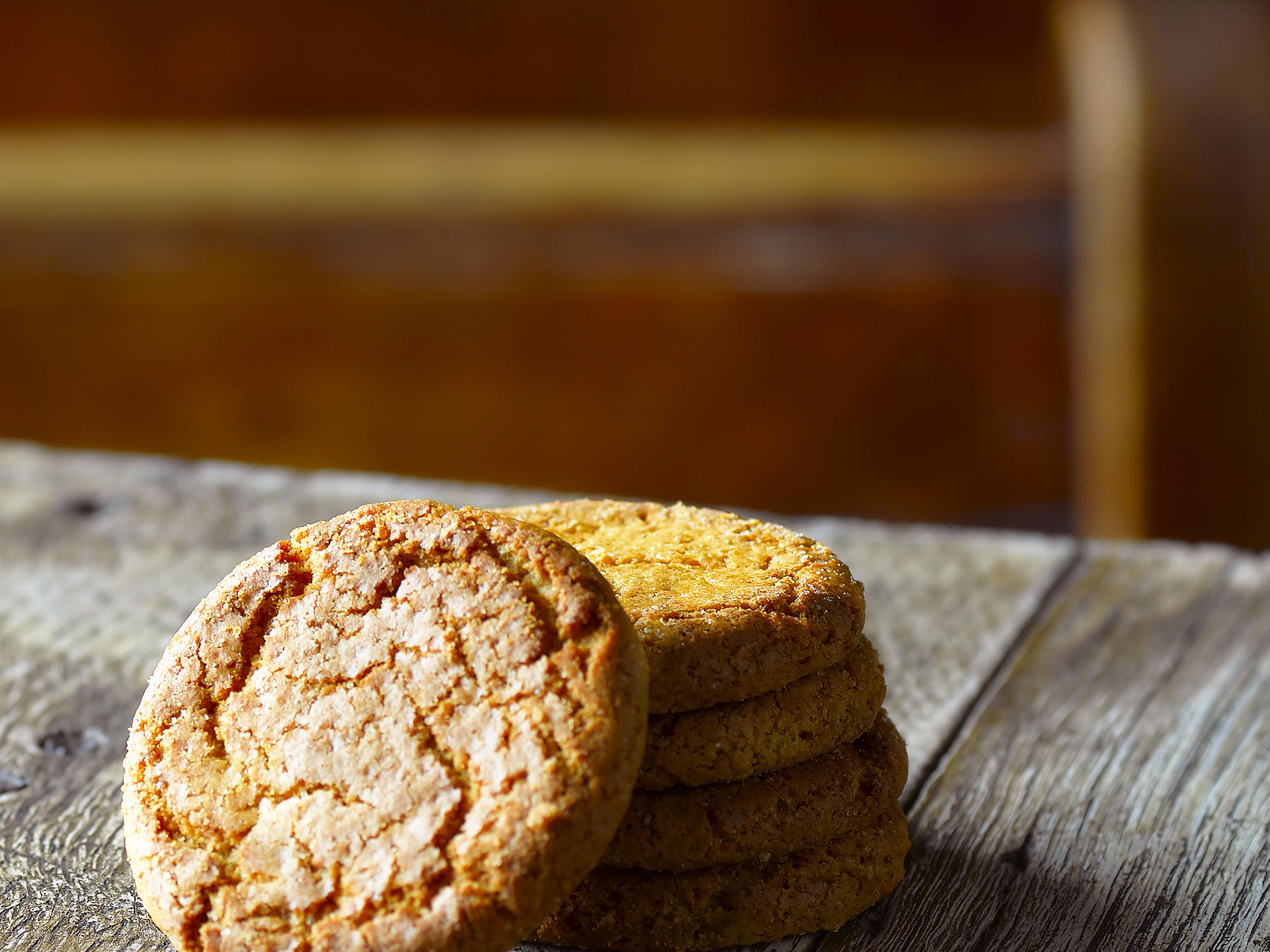 Easy Traditional Ginger Biscuit Recipe
