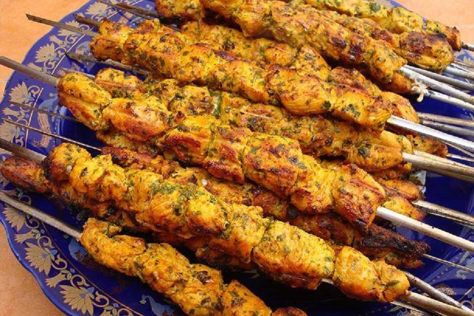 Moroccan Turkey Breast Brochettes