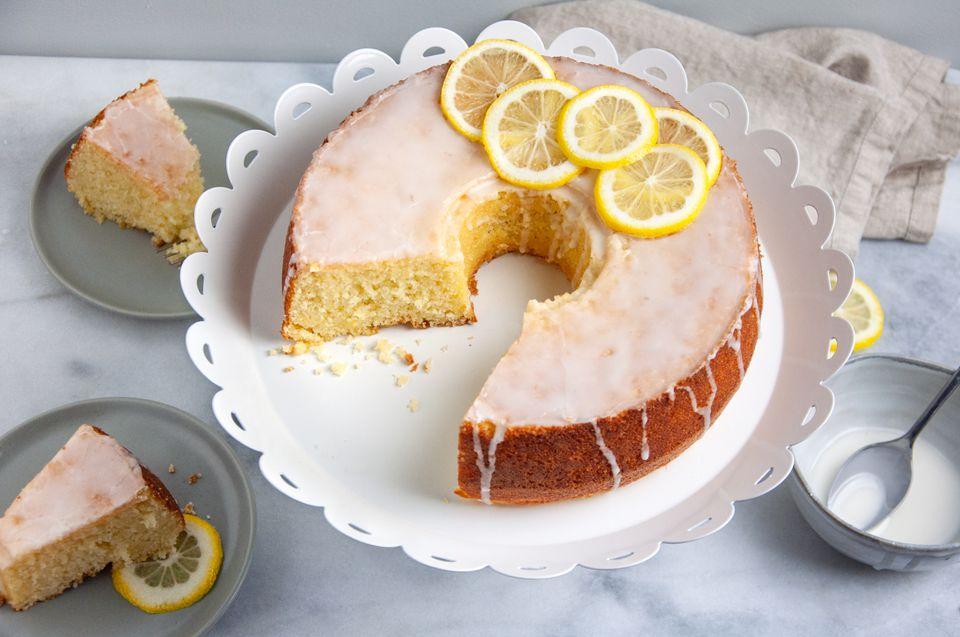 Moroccan Lemon Cake (Meskouta) Recipe