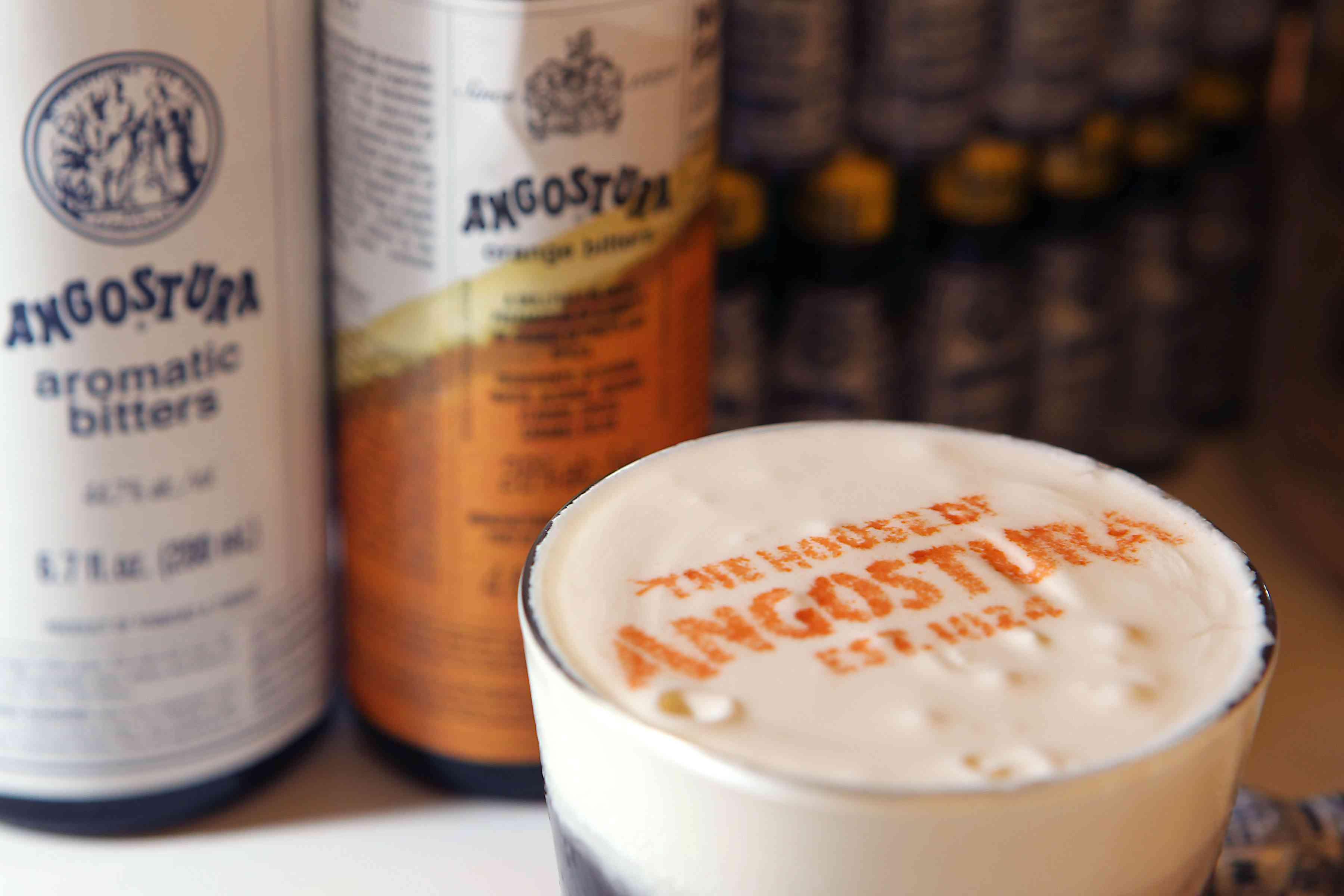Angostura Aromatic Bitters and Orange Bitters