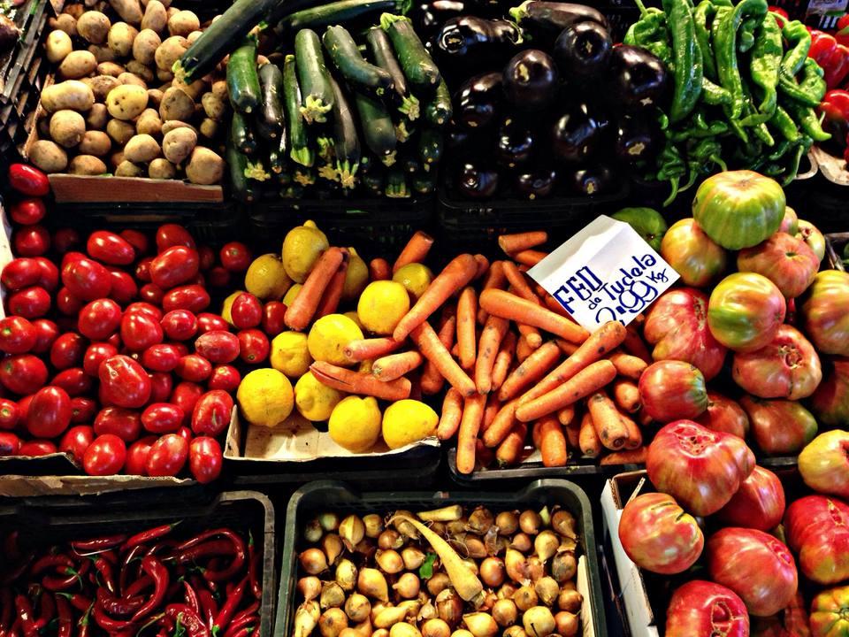 Full Frame Shot Of Various Vegetables For Sale