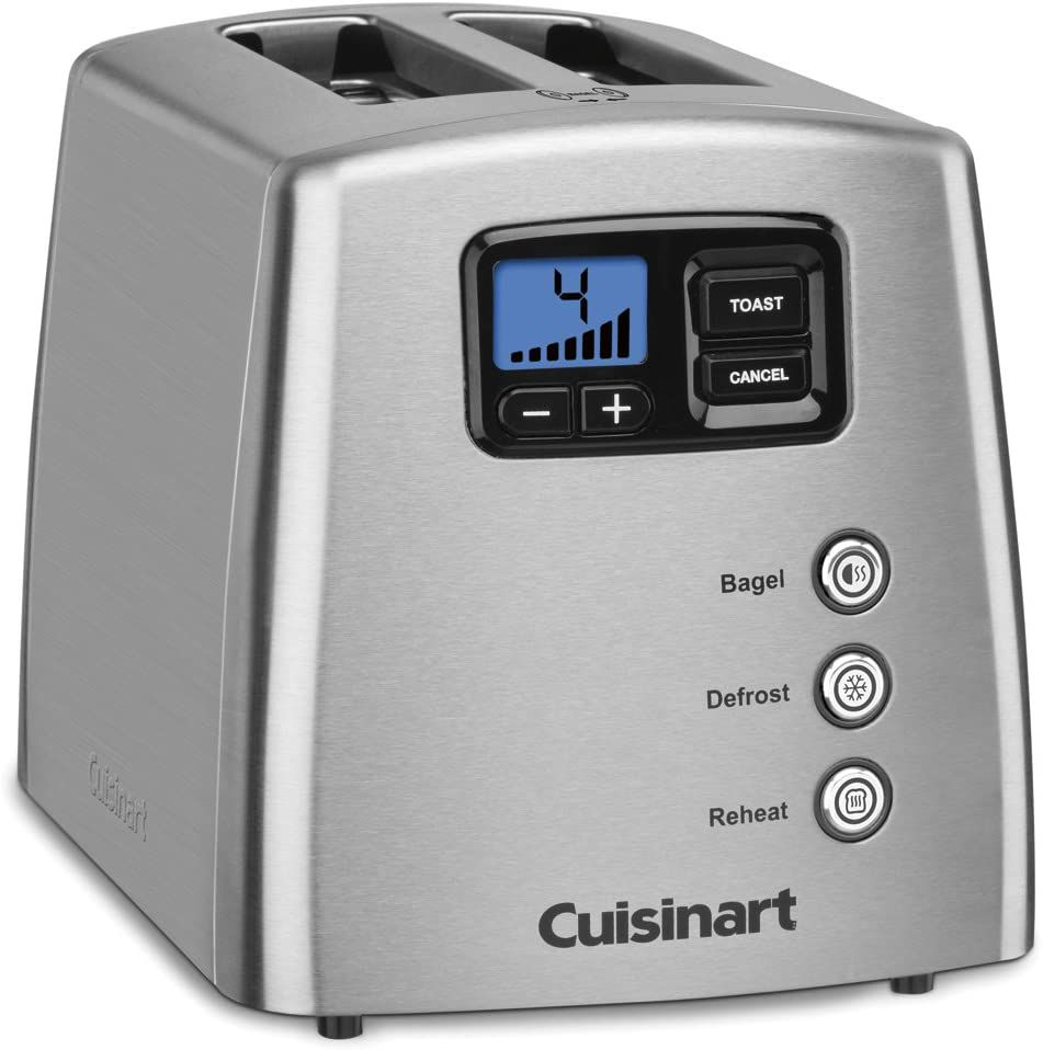 Cuisinart Touch-to-Toast Leverless 2-Slice Toaster